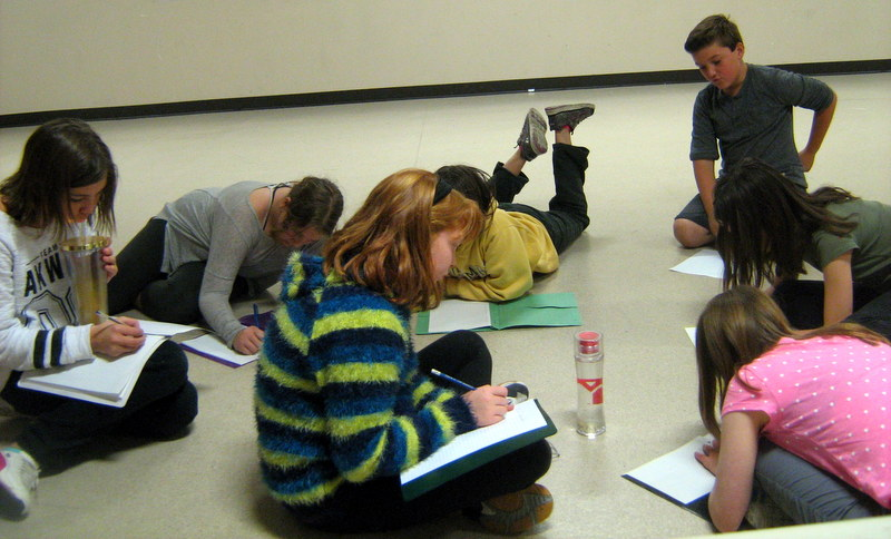 Theatre Artist Residencies in Calgary Schools