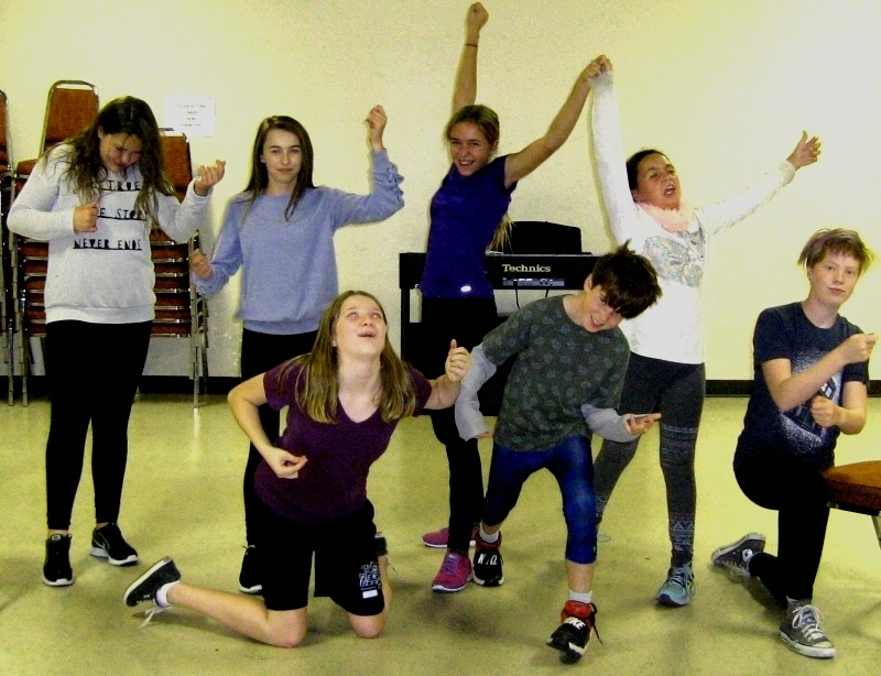 Drama Classes in Calgary for Kids, Youth and Teens ages 7-14