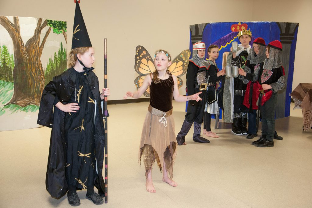 Drama Classes for HomeSchool kids and Youth ages 7-12 in Calgary